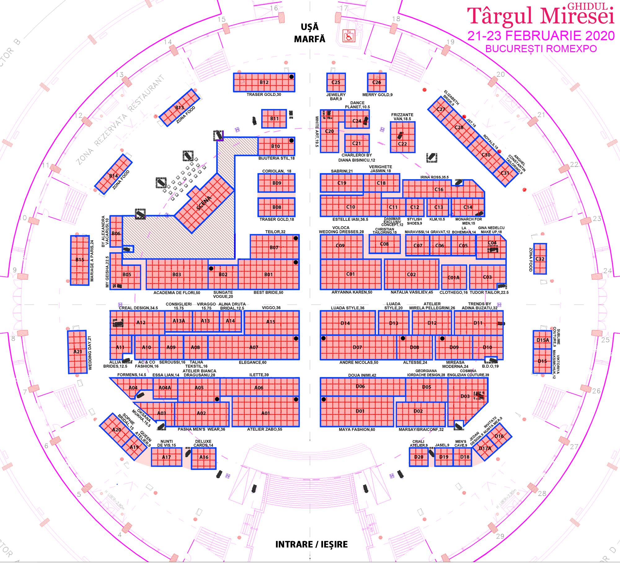 Targul Ghidul Miresei, 21-23 Februarie 2020